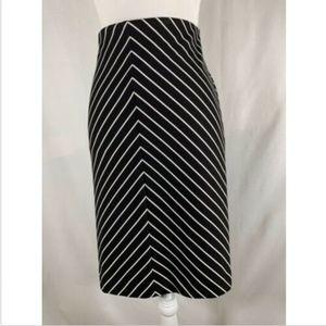 Lane Bryant womens skirt plus size 22 black white
